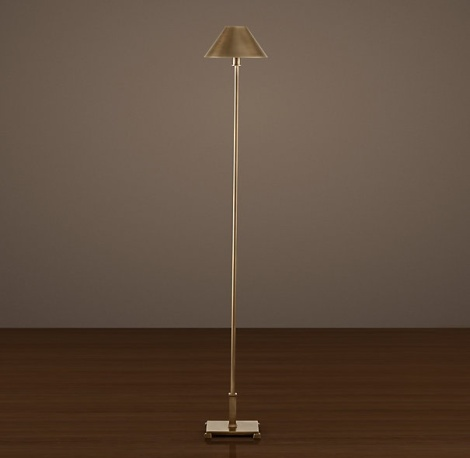 floor lamp from Restoration Hardware