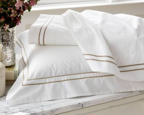 bedding from Williams-Sonoma Home