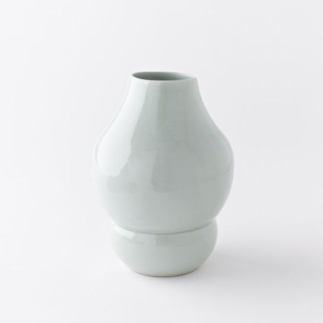 Celadon vase from West Elm