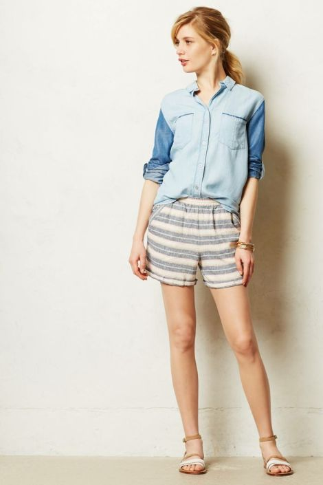shorts from Anthropologie