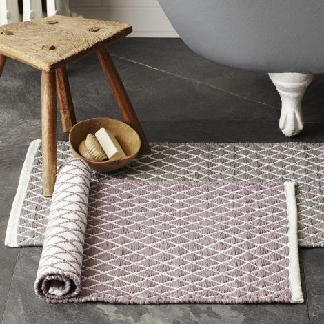 bath mats from West Elm