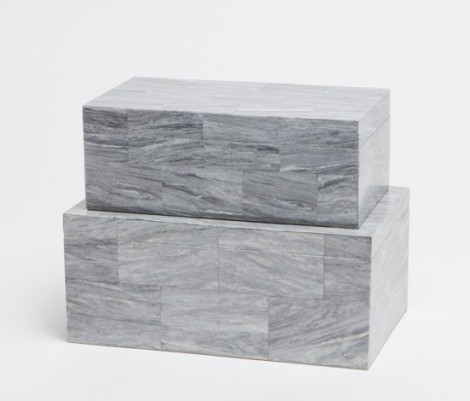 marble boxes from Made Goods